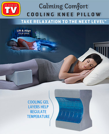 Calming Comfort™ Cooling Knee Pillow