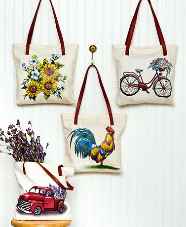 Novelty Printed Tote Bags