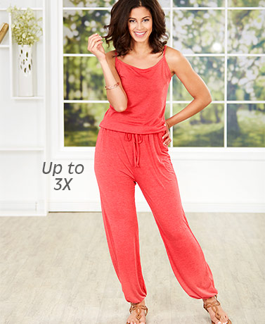 Women's Comfy Knit Jumpsuits