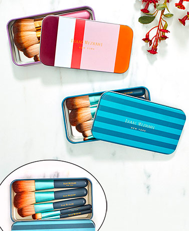 5-Pc. Mini Brush Set in Tin