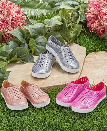 Toddlers' Slip-On Waterproof Shoes