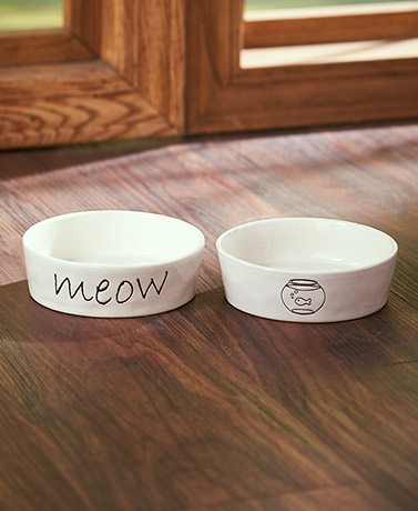 Stated Simply Cat Bowls