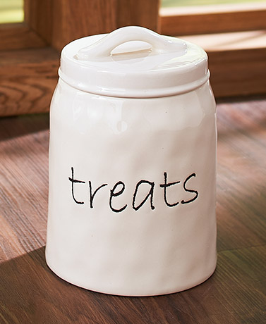 Stated Simply Treat Jar