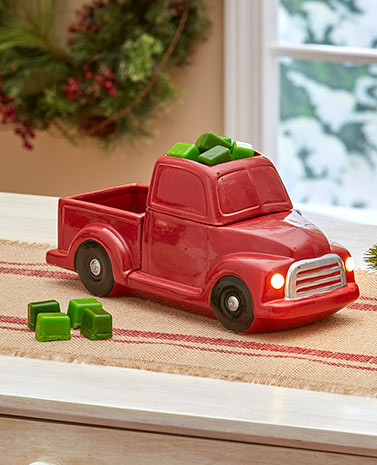 Red Pickup Truck Tart Warmer or Tart Sets
