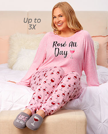 Cozy Attitude Pajama Sets