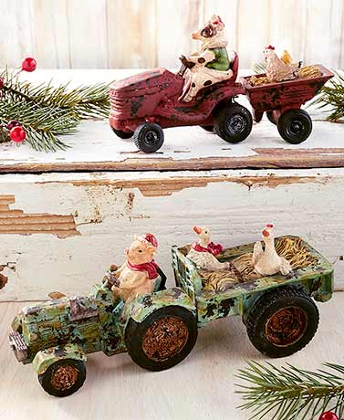 Tractor Animal Figurines