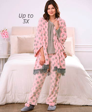 Luxurious Plush Loungewear Coordinates
