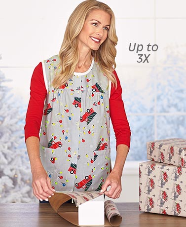 Sleeveless Crafters Smocks