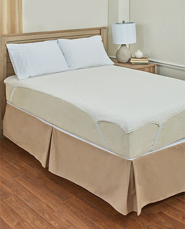 Plush Sherpa Mattress Pad