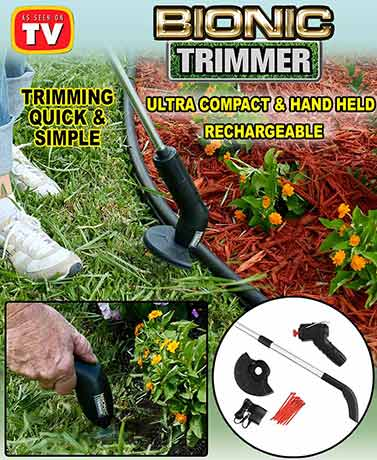 Bell+Howell® Bionic Trimmer™ for Yard