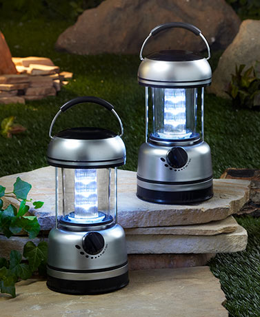 Set of 2 LED Lanterns