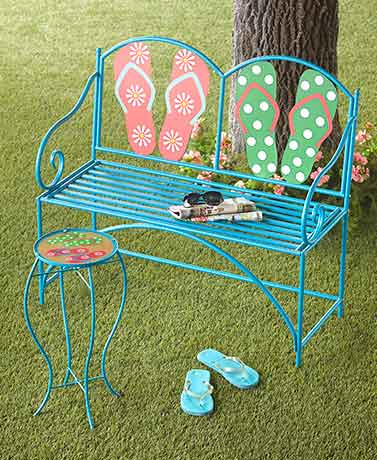 Flip-Flop Themed Outdoor Furniture