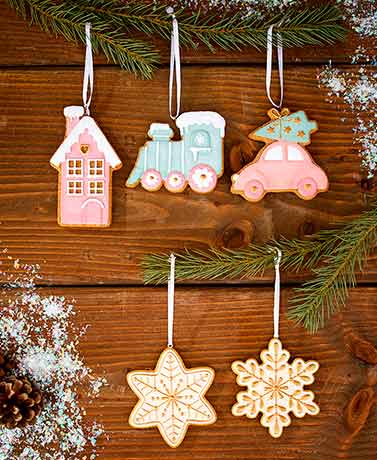 Gingerbread Ornament Sets