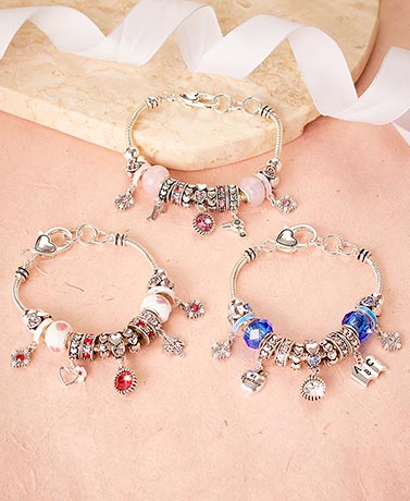 Occupational Beaded Charm Bracelets