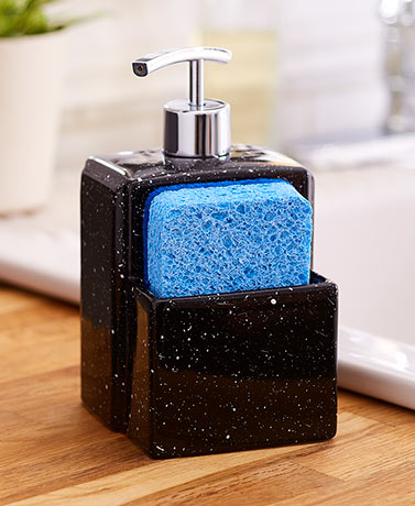 Soap Dispenser with Sponge Holder