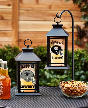 NFL LED Candle Lanterns