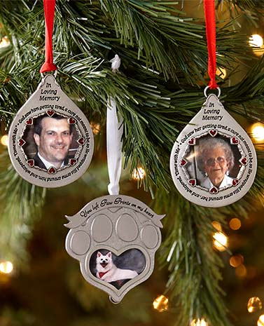 Loving Memory Photo Ornaments