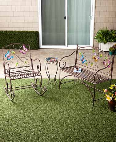Butterfly Accent Outdoor Furniture