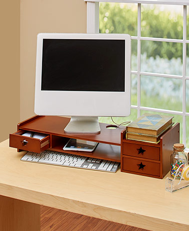Monitor Stand and Organizer