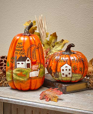 Give Thanks Harvest Country Pumpkins