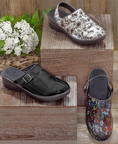 Women's Comfort Clogs with Strap