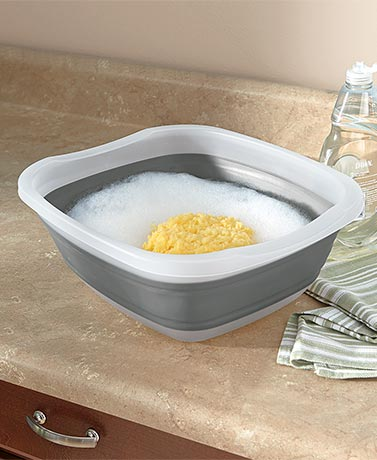Collapsible Wash Basin