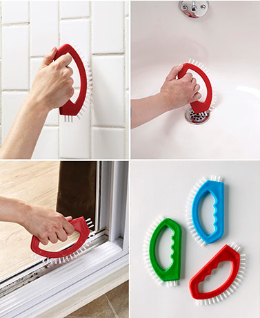 3-Pc. Tile Cleaning Brush Set