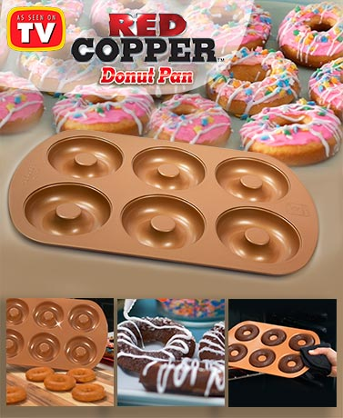 Red Copper™ Donut Pan