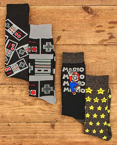 2-Pk. Men's Licensed Crew Socks