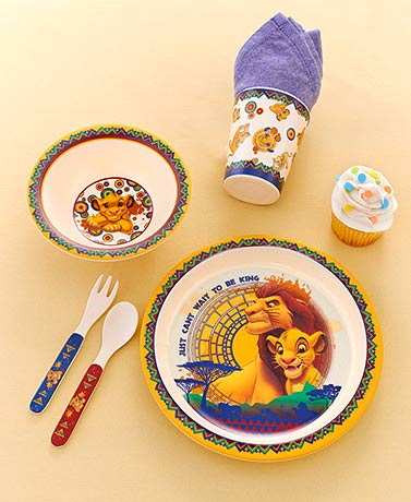 Licensed 5-Pc. Kids' Dinnerware Sets