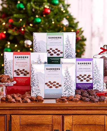 Sanders' Chocolate Holiday Gift Boxes