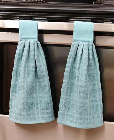 Sets of 2 Hanging Kitchen Towels