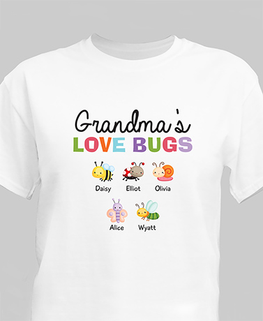 Love Bugs Personalized T-Shirt