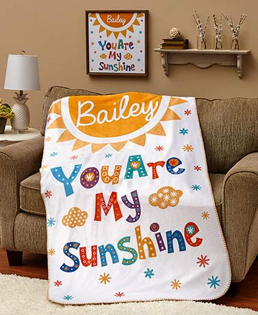 Personalized You Are My Sunshine Collection