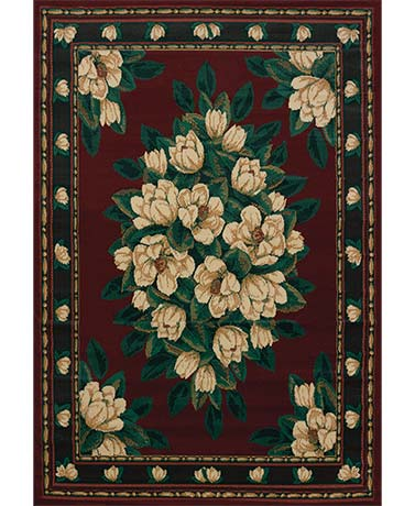 Decorative Floral Rug Collection