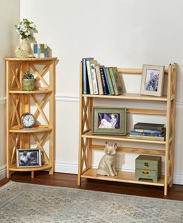 Montego Folding Bookcase Collection