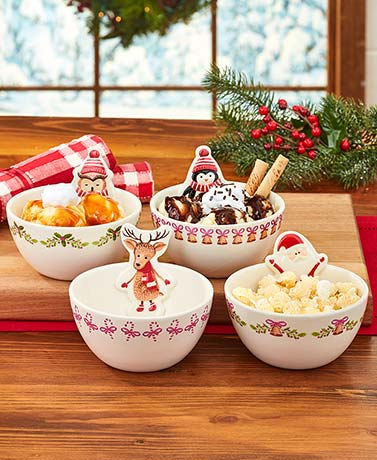 Whimsical Holiday Bowls