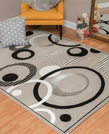 Contempo Decorative Rug Collection