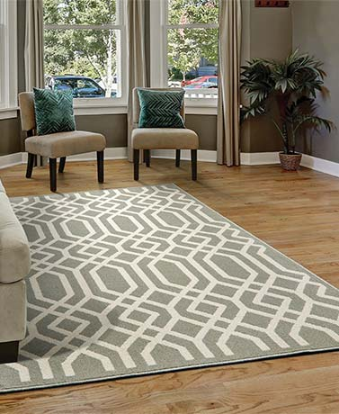 Trellis Decorative Rug Collection