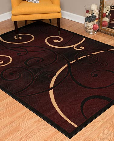 Scroll Decorative Rug Collection