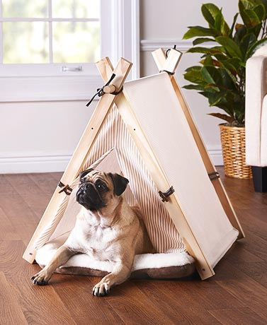 2-Pc. Teepee Pet Bed