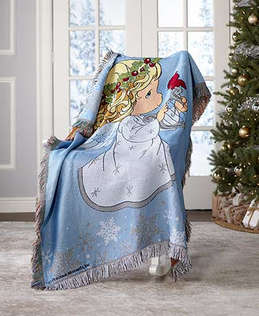 Precious Moments® Seasonal Tapestry Throws