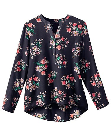 Floral Pullover Tops