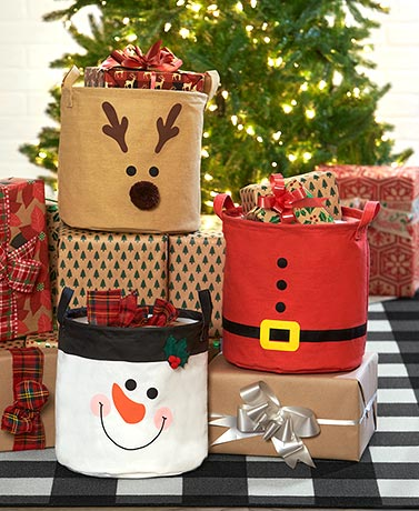 Holiday Storage Bins
