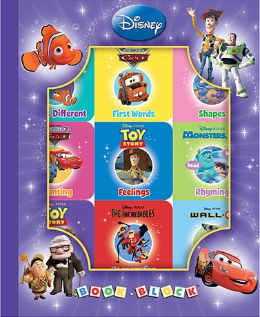 Disney Pixar 9-Book Box Set