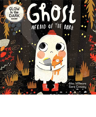 Ghost Afraid of the Dark Storybook