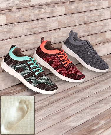 Women's Stretch Knit Memory Foam Sneakers