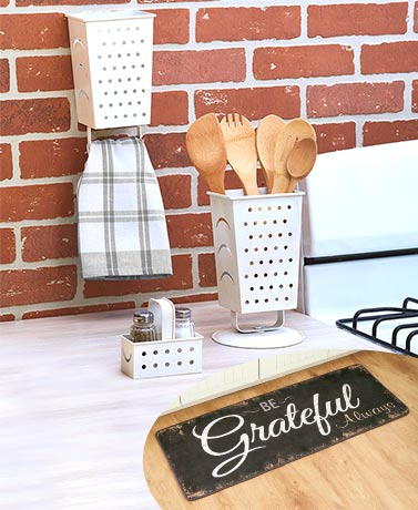 Be Grateful Always Kitchen Decor Collection