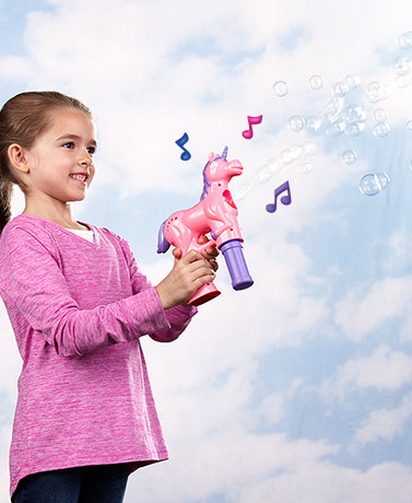 Fubbles Musical Unicorn Bubble Machine