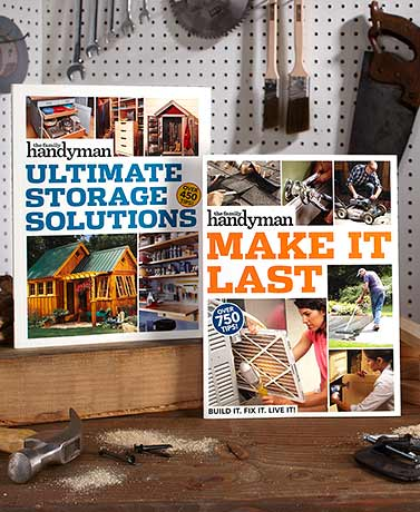 The Family Handyman™ Home Improvement Books